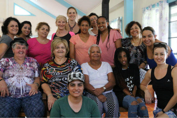 Attendees at a CALD Social Growth Project workshop