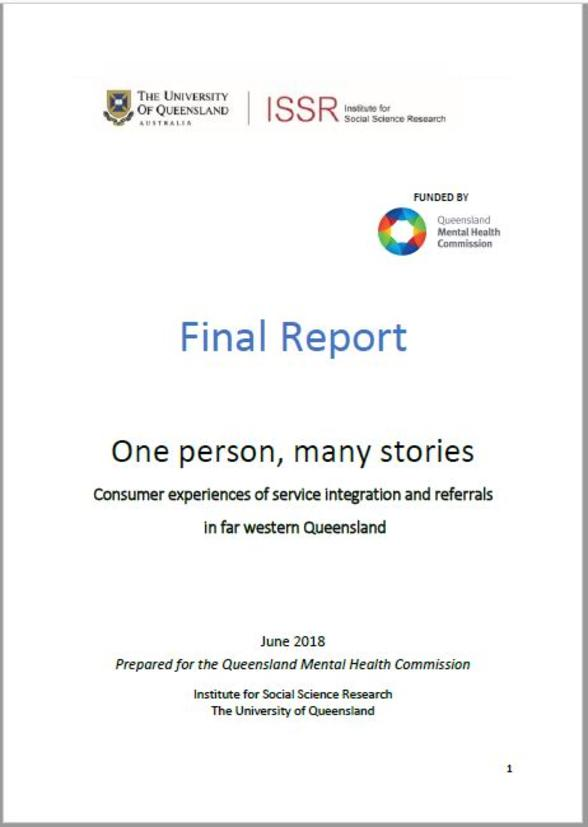 One person, many stories: consumer experiences of service integration