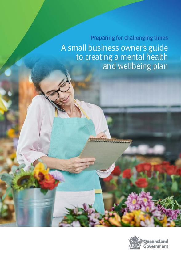 A small business owner's guide to creating a mental health and wellbeing plan