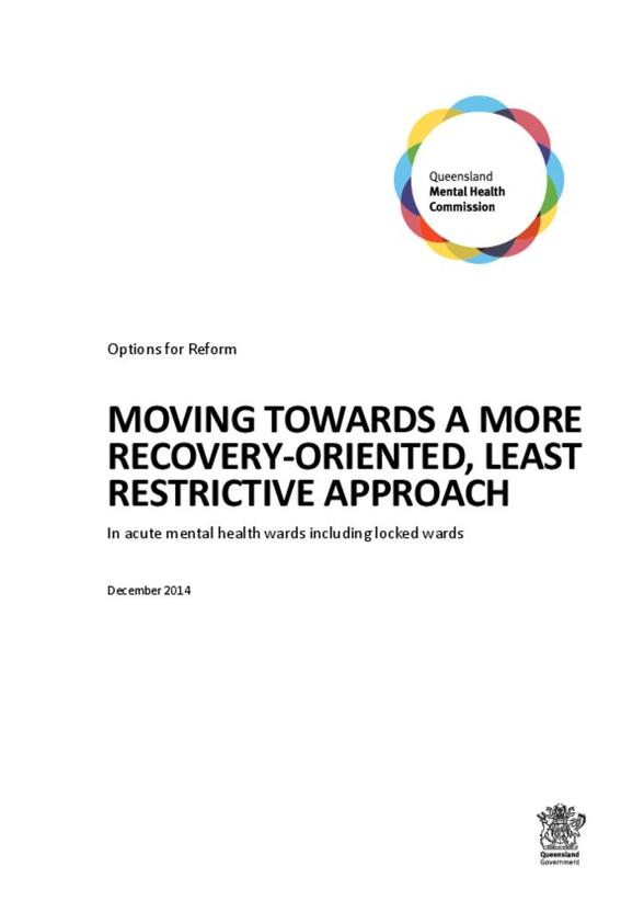 Options for Reform: Moving towards a more recovery