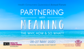 Health Consumers Queensland Annual Forum 2020