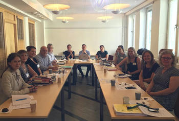Exchange with the Public Health Agency, Stockholm, Sweden as part of IIMHL