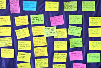 lived experience in mental health forum activity