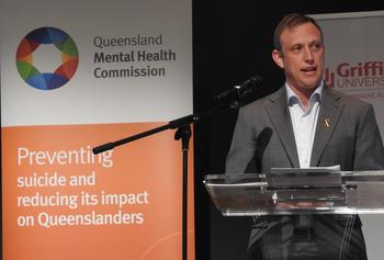 Health Minister Steven Miles launches Every life suicide prevention plan