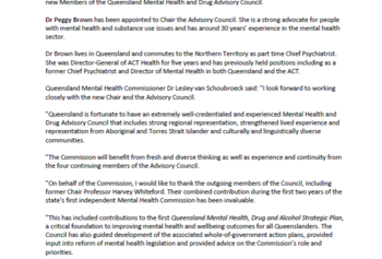 PIC_Media Release_New Advisory Council brings insight and experience
