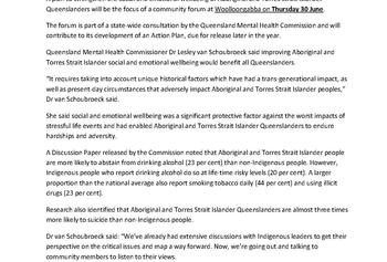 QMHC_Brisbane consultation on Aboriginal and Torres Strait Islander mental health and wellbeing_PIC_Page_1