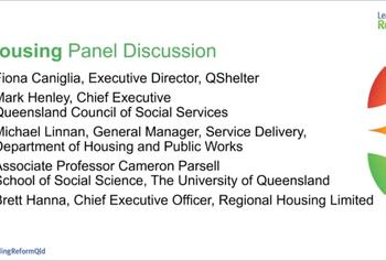 Housing Panel Discussion