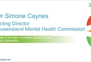 Leading Reform 2018 video :: Parity for prevention, Dr Simone Caynes