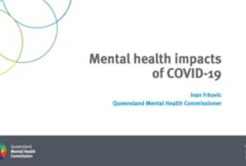 Mental health and COVID-19