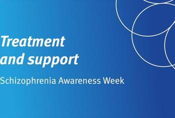 Schizophrenia Awareness Week: Treatment and support