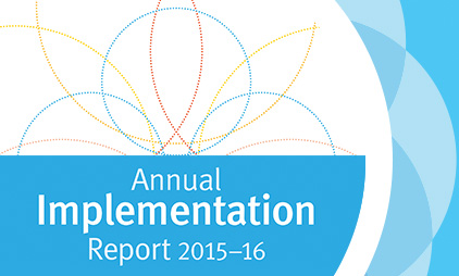 Information about Implementation  Report 2016 | Read how we've implemented the Strategic Plan over the last year