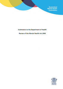 QMHC Mental Health Act Submission 2014