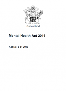 Mental Health Act 2016