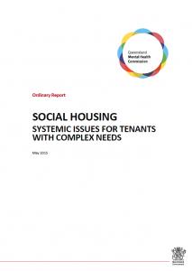 PIC_QMHC ORDINARY REPORT_Social Housing
