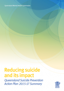 PIC_Reducing suicide and its impact_Queensland Suicide Prevention Action Plan SUMMARY