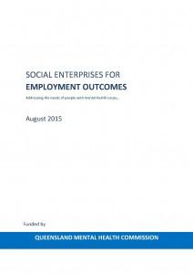 Social Enterprise for Employment Outcomes_August 2015_Pic
